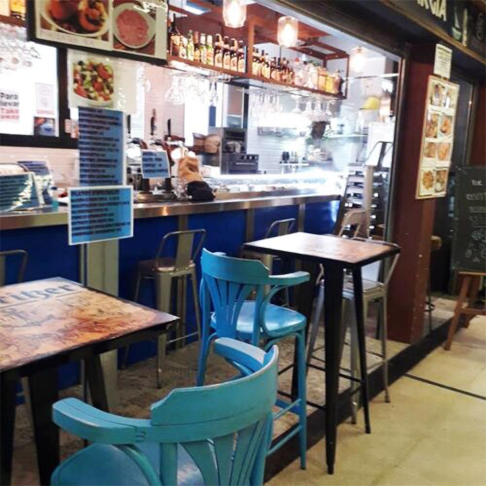 mercado de san Fernando Hamburg Exargia mercado de abastos sitios de hamburguesas madrid hamburgesas de calidad madrid restaurantes de hamburguesas madrid