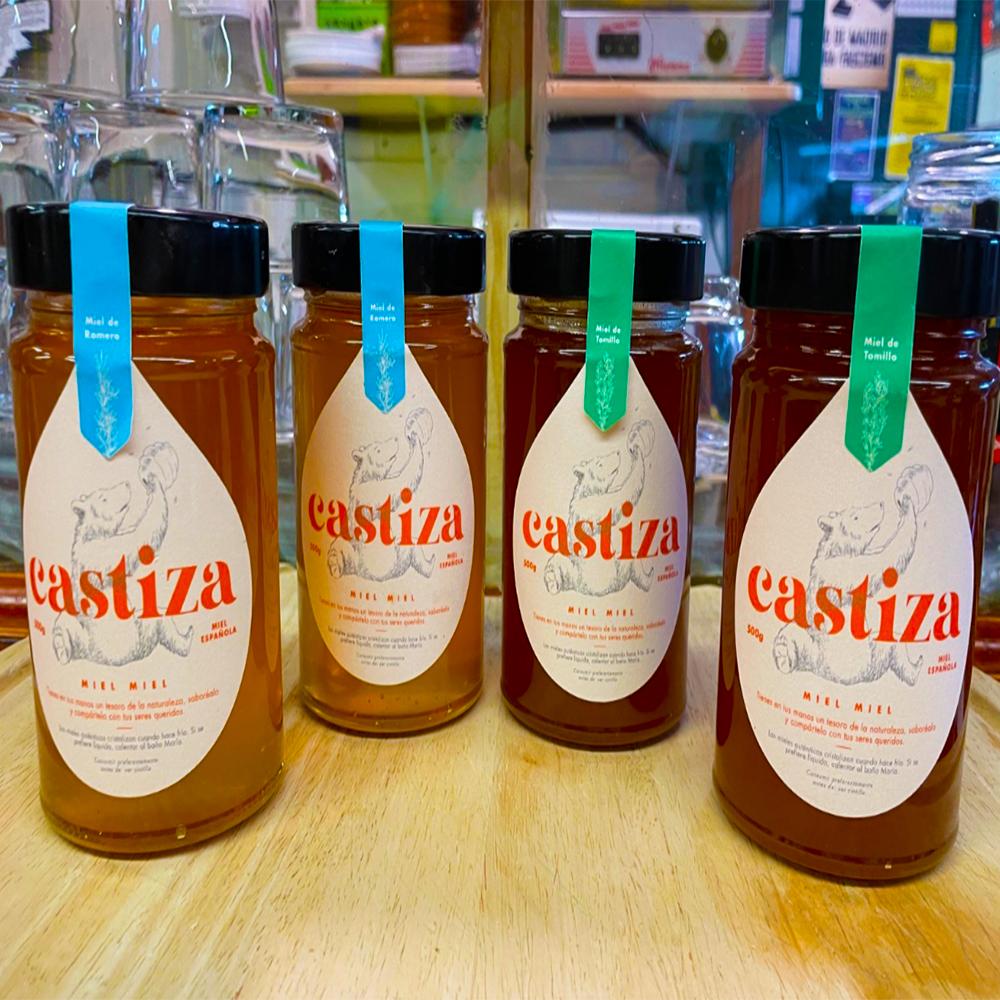mercado de san fernando miel de tomillo miel de romero los panchitos de enfrente miel buen precio miel buena calidad mercado de abastos